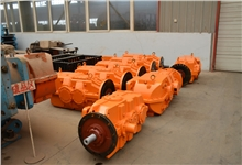 河南煤化订购的8台JS160减速机整装待发
