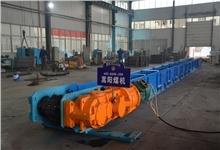 三峡港口用刮板输送机顺利完成试机|嵩阳煤机