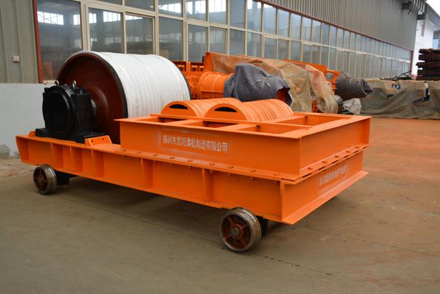 皮带输送机拉紧装置的种类及特点|嵩阳煤机