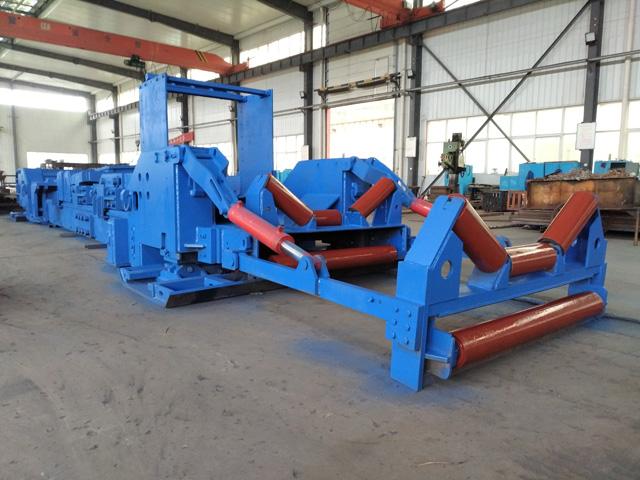 山西煤矿用ZY2700型皮带机自移机尾完成试机 嵩阳煤机