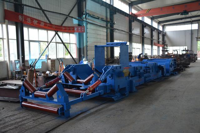 ZY2700 型皮带机自移机尾主要组成及部件结构|嵩阳煤机