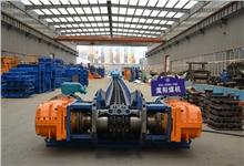 陕西SGZ764/320D综采刮板输送机完成试机|嵩阳煤机