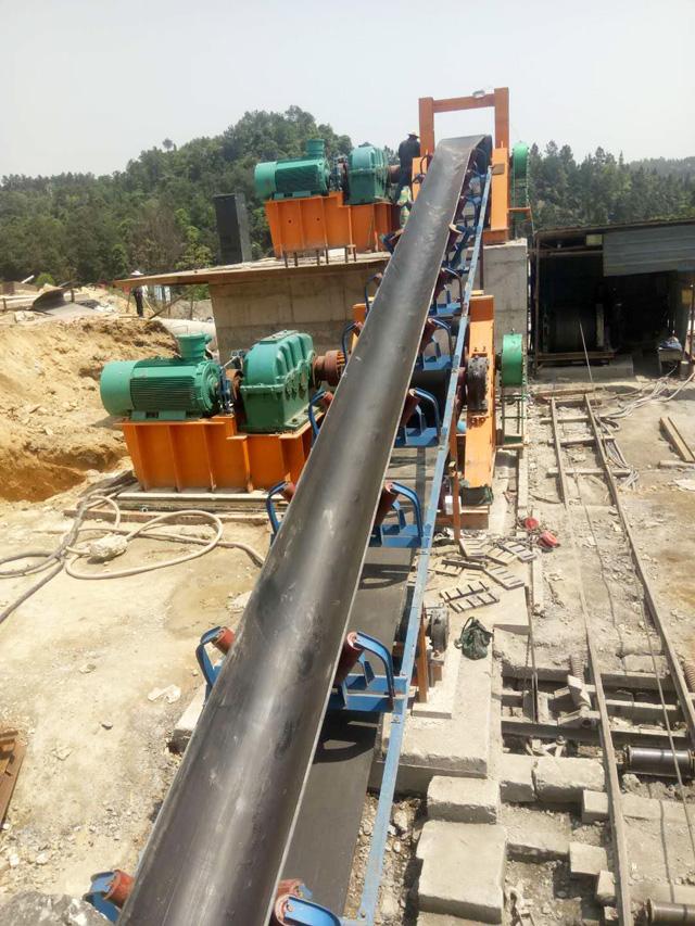山西煤矿用大倾角带式输送机技术方案|嵩阳煤机