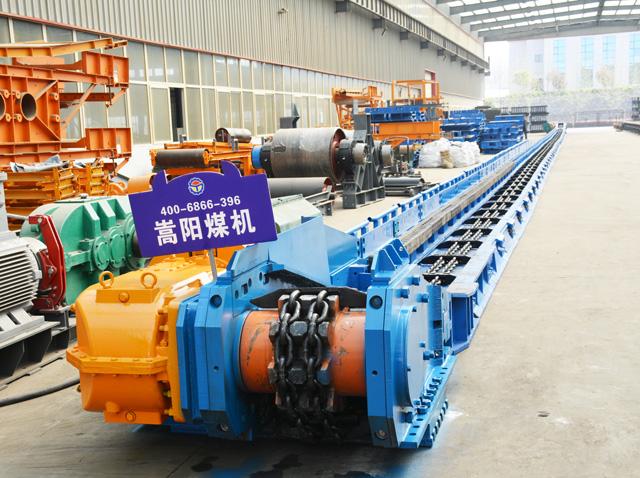 陕西榆林煤矿SGZ630/220刮板输送机厂家|嵩阳煤机