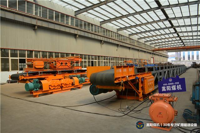 嵩阳煤机2018年前三季度出售带式输送机93台丨长度100000余米