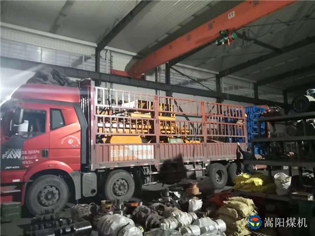 山西盂县、云南宣威、四川乐山等煤矿客户的带式输送机配件已发货