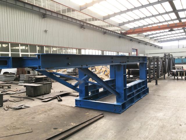嵩阳煤机发往黑龙江煤矿第5台皮带输送机安装调试中