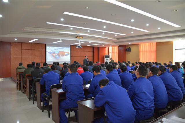 带式输送机厂家嵩阳煤机2019年新入职员工培训圆满结束