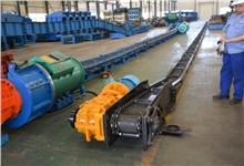 云南煤矿SGB420/30刮板输送机完成试车等待发货