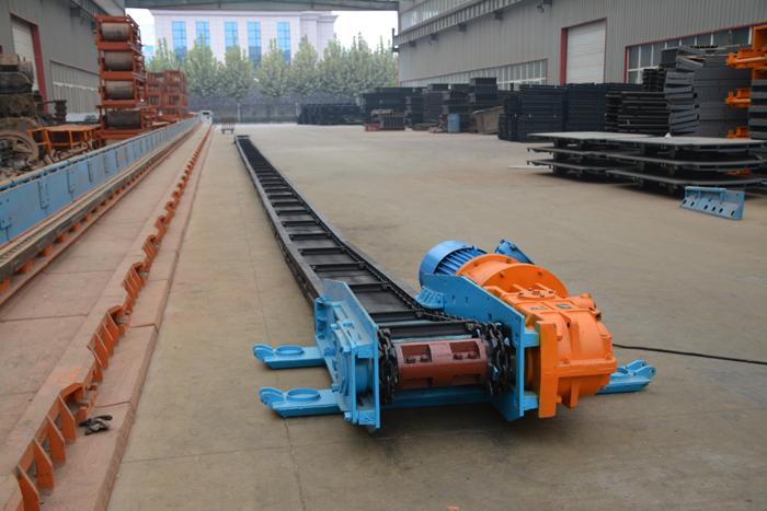 神火能源煤矿40T刮板机运行正常|嵩阳煤机