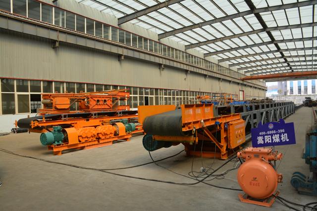 皮带输送机厂家分享胶带打滑的预防及解决方案|嵩阳煤机