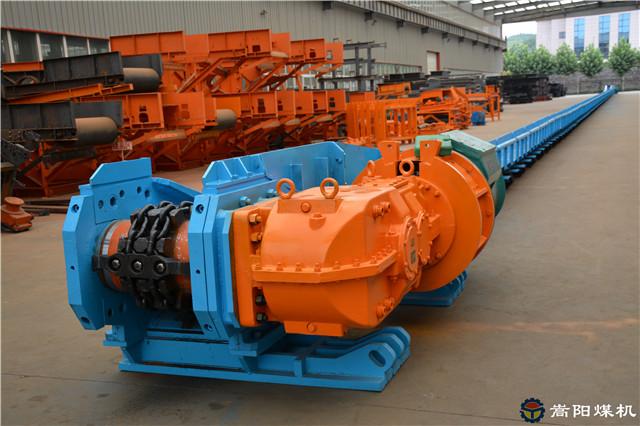 越南河内煤矿大型煤矿综采刮板输送机设备项目已准备就绪