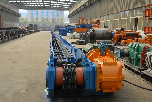 中国煤矿输送设备刮板机之浓浓矿山情 嵩阳煤机