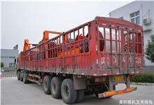 嵩阳煤机的大批 刮板输送机 和 皮带输送机配件 正发往山西