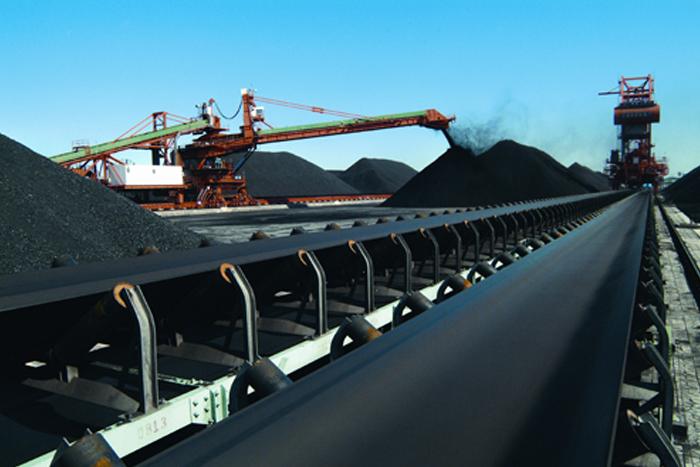 洗煤厂皮带输送机图片
