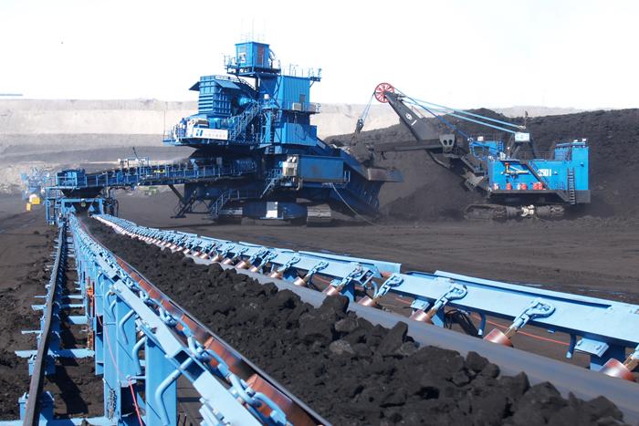 煤矿皮带输送机